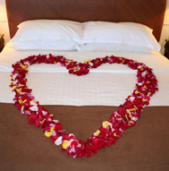Click to see larger version of Honeymoon Special bed